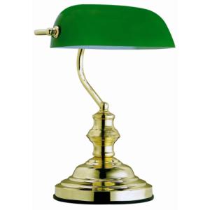 GLOBO ANTIQUE 2491 Lampa stołowa