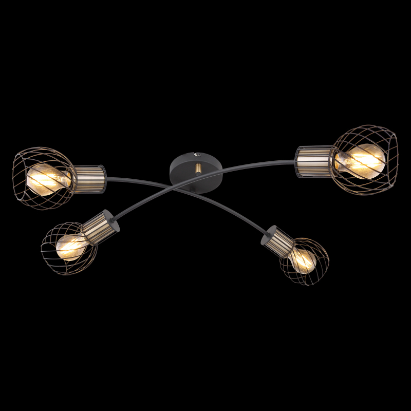 GLOBO ARGUSTO 54013-4D Stropné svietidlo