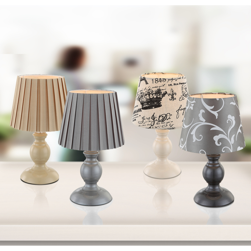 GLOBO METALIC 21690 Stolová lampa