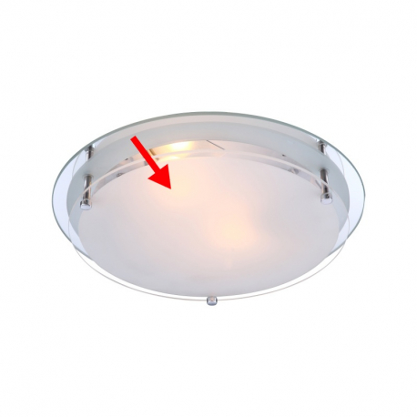 Globo 48167-2G1 Náhradné sklo pre 48167-2
