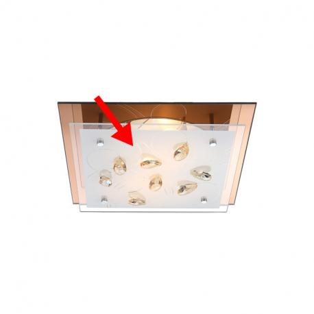 Globo 40412-2G1 Náhradné sklo pre 40412-2