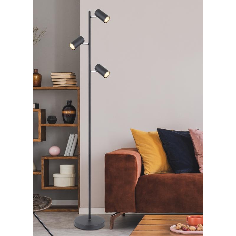 GLOBO ROBBY 549710SB Lampa podłogowa